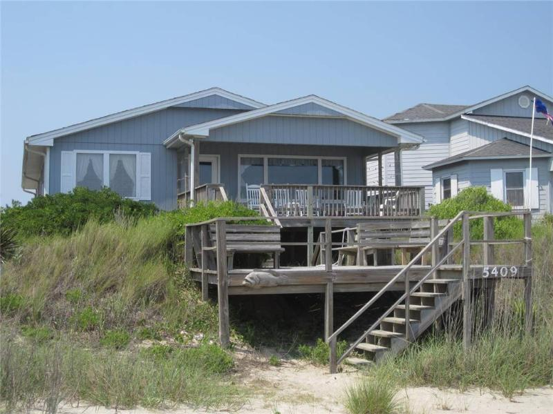 Whispering Tides  5409 West Beach Drive - Image 1 - Oak Island - rentals