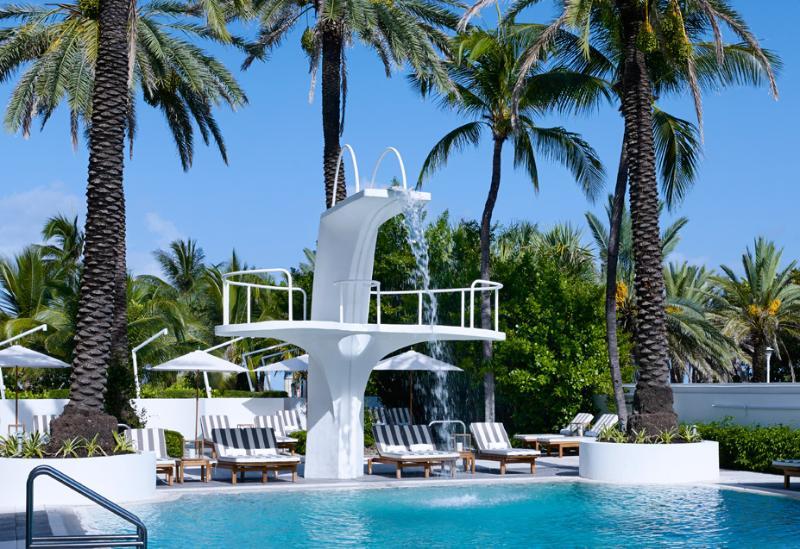 "OUR HISTORIC ESTHER WILLIAMS POOL. - ""THE SEA""OCEAN VIEW STUDIO @THE SHELBORNE WYNDHAM - Miami Beach - rentals"