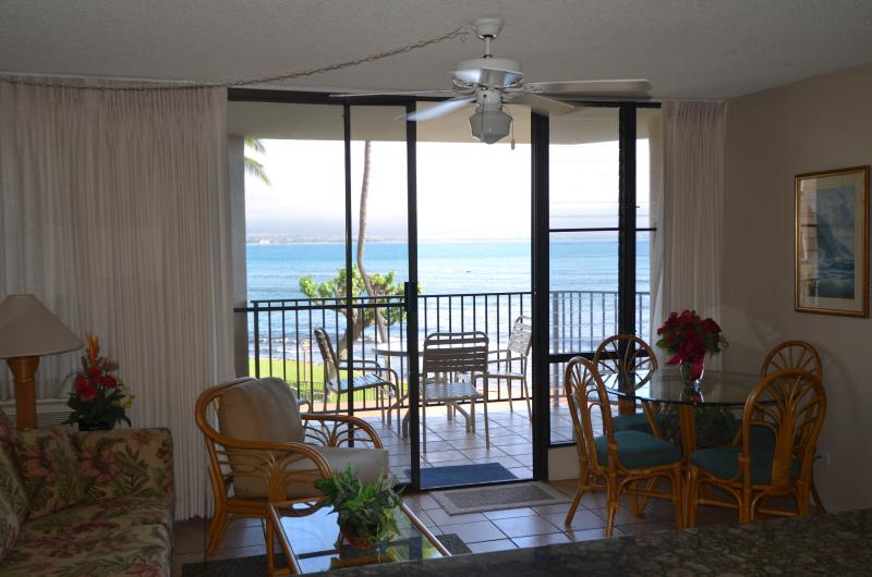 Your Oceanside Living Room! - Milowai #204--Tropical Maui Oceanfront Condo - Maalaea - rentals