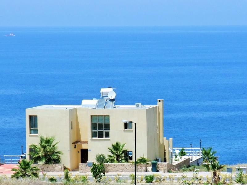 STUNNING private Villa, with Outstanding Sea view - Image 1 - Akrotiri - rentals