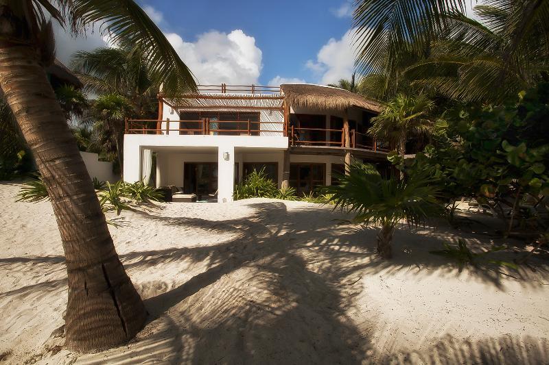 Beachfront of Casa Carolina - Ultimate Beach Villa Casa Carolina Tulum - Tulum - rentals