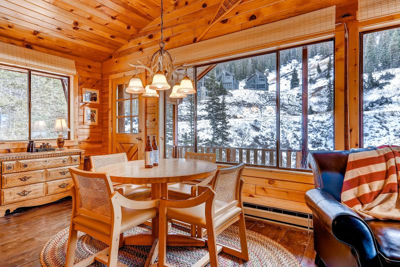 Manley Cabin Dining Area - Manley Ski Cabin - Alta - rentals