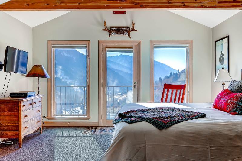 Superior Point 1B Master Bedroom - Superior Point Condominiums - 1B - Alta - rentals