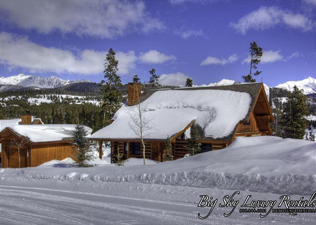 4BD Cabin Getaway: Year-Round Activities, Private Hot Tub, Ski Access Winter - Image 1 - Big Sky - rentals