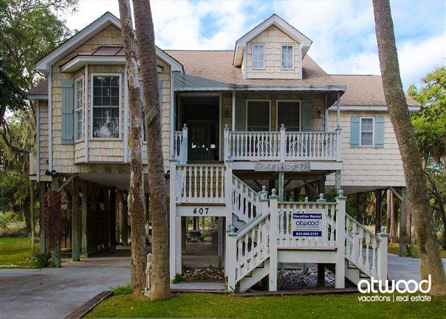Big Honey Do - Adorable Beach Walk Home - Image 1 - Edisto Island - rentals