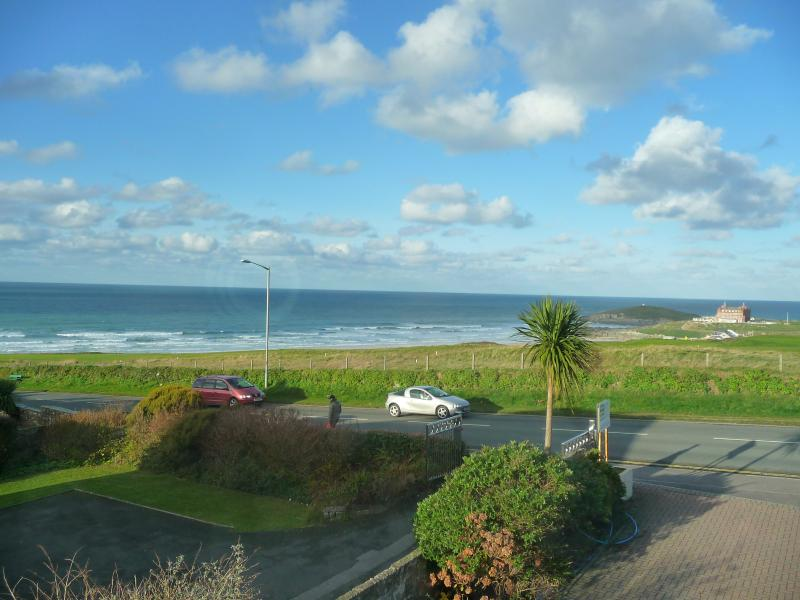 Uninterrupted views of Fistral Beach from Salty Towers - Salty Towers - 4 Bedroom House, sleeping up to 10 - Newquay - rentals