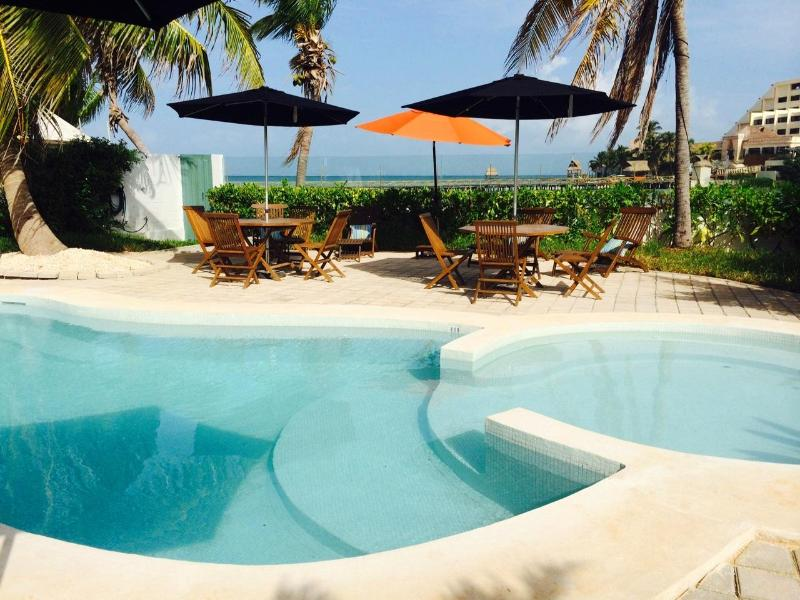 Aqua-New 4 bedroom Villa on Playa Norte - Image 1 - Isla Mujeres - rentals