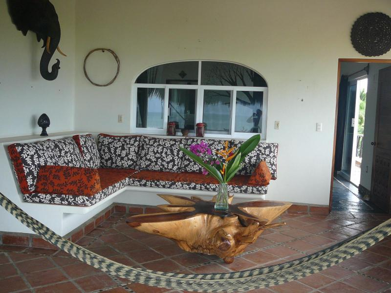 PH patio - Bangkok Inspired Beach Condos - 1 bedroom - Puerto Escondido - rentals
