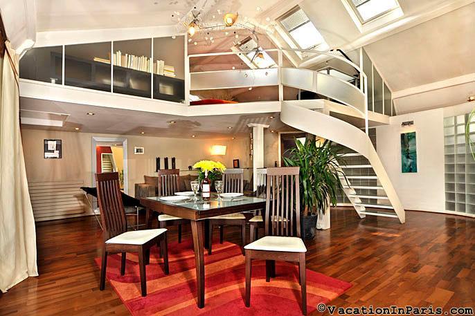 Republique Chic Loft Three Bedroom - Image 1 - Paris - rentals
