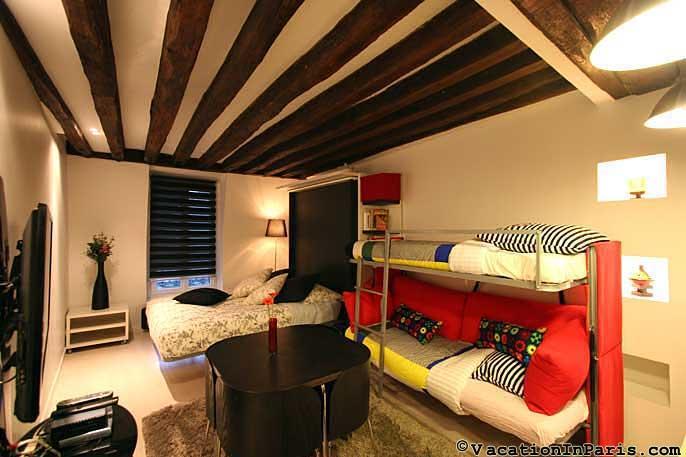 Chic Studio in the Latin Quarter of Paris - Image 1 - Paris - rentals