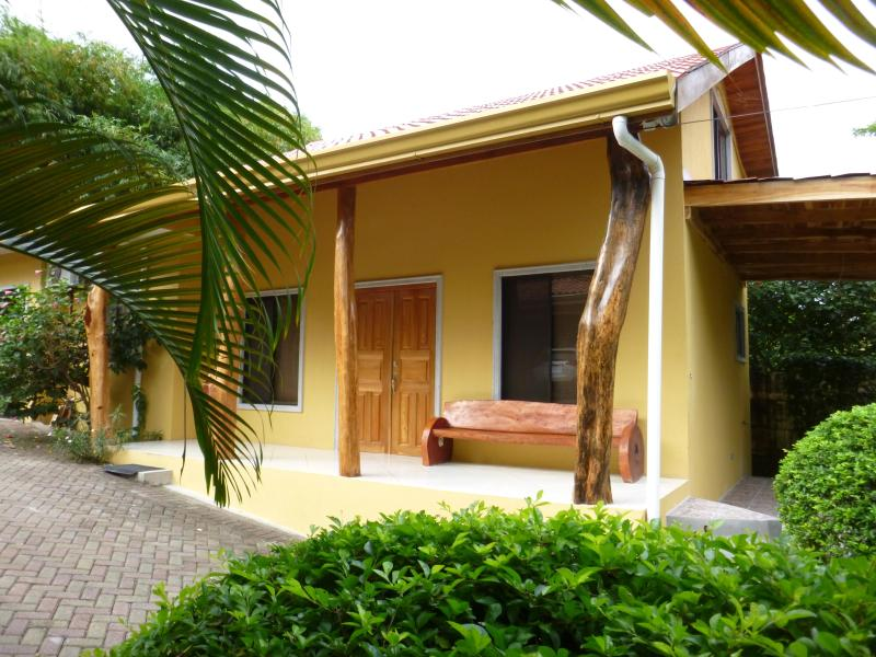Front of House - Casita Pacifica - 200 yards from the beach - Playa Samara - rentals