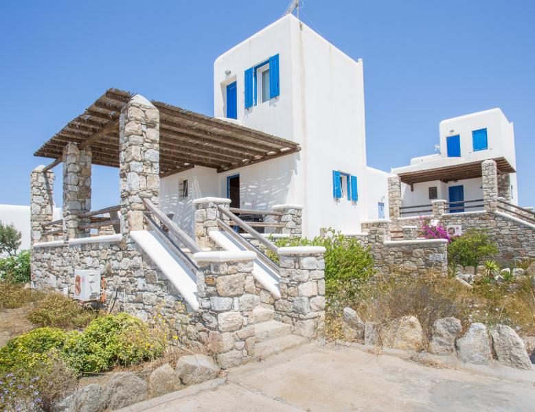 A House with Pool & Sea View in Ornos - Mykonos - Image 1 - Mykonos - rentals