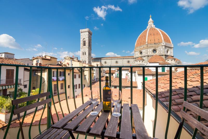 Huge Flat with Duomo breathtaking view - Image 1 - Florence - rentals