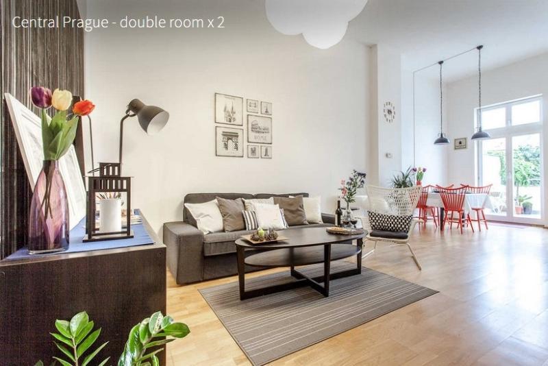 Living Room - 2 bedrooms city center apartment - Prague - rentals