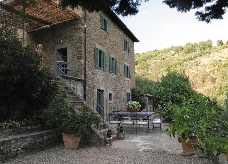 Villa Lavanda's external view - Villa Lavanda - Cortona - rentals