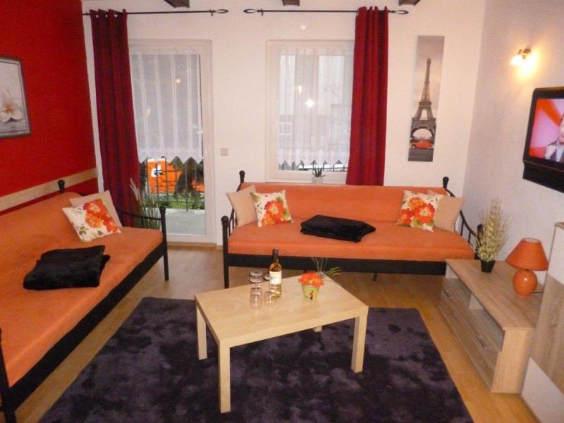 Living Room (1) - Vacation Apartment in Homberg (Efze) - 969 sqft, quiet, clean, spacious (# 1198) - Homberg - rentals