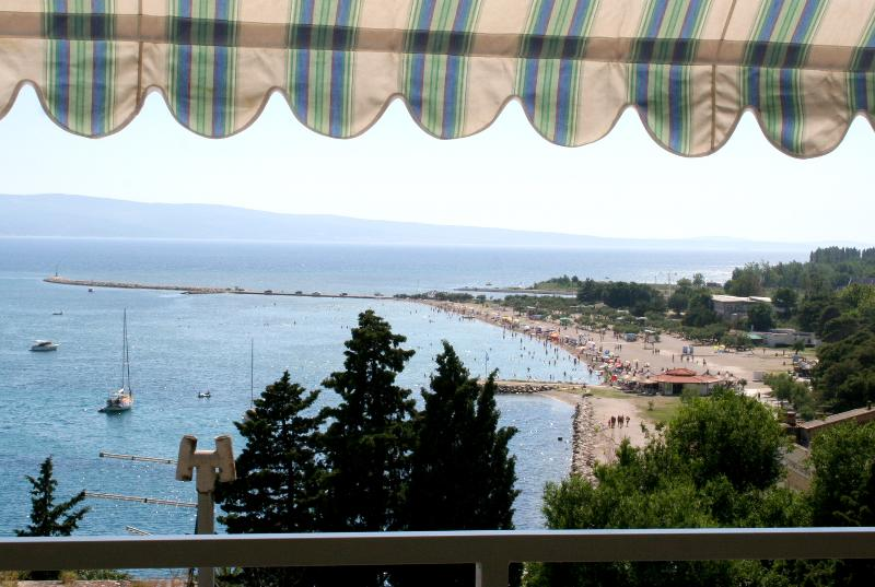 """view from balcony - Apartments """"Zore"""" - A2 (4+2) - Omis - rentals"""