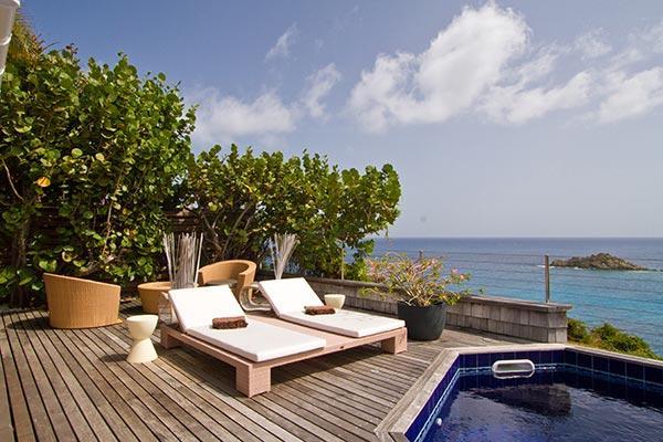 Attractive villa with open views over ocean & neighboring islands WV JPC - Image 1 - Gustavia - rentals
