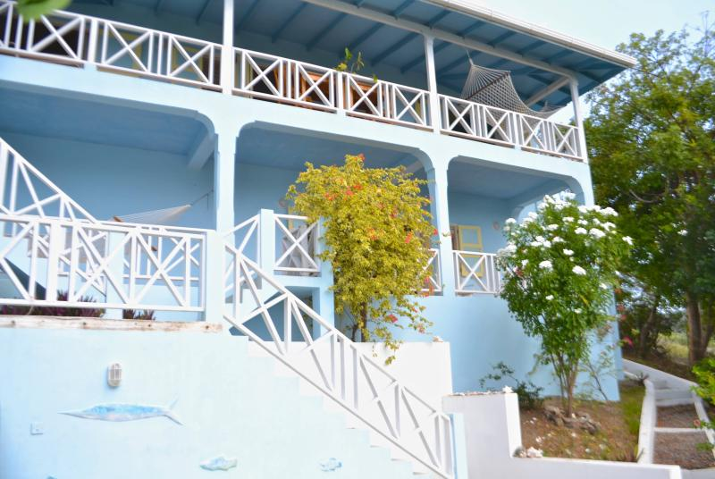 Villa Ballyhoo Facade - Villa Ballyhoo, Craigston Carriacou, Grenada - Carriacou - rentals