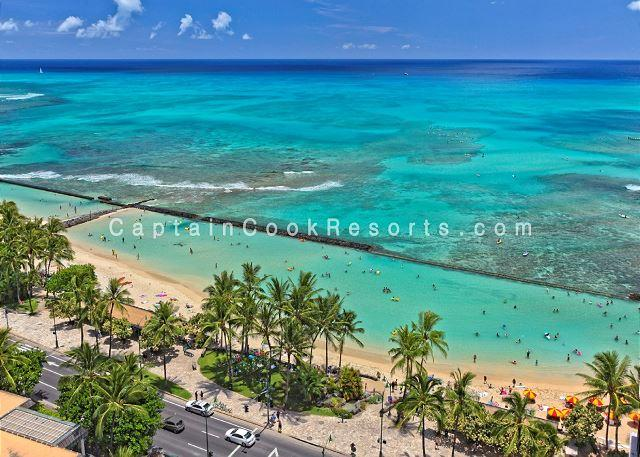 Sweeping ocean views, 2 bed, 2 bath upgraded condo with marble bathrooms. - Image 1 - Waikiki - rentals