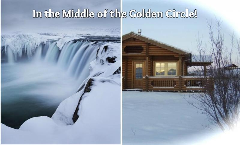 In the middle of the Golden Circle! - A log cabin at the river bank (Golden Circle)! - Selfoss - rentals
