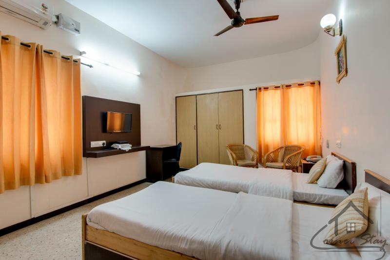 Standard Room - Corner Stay Serviced Apartment - Race Course-Standard Room-Pvt Room - Coimbatore - rentals