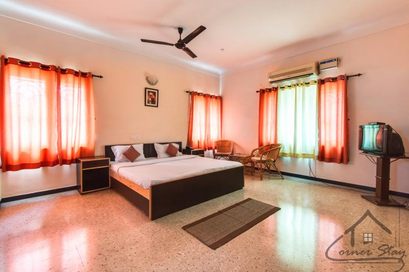 Deluxe Room - Corner Stay Serviced Apartment- Race Course-Deluxe Room-Pvt - Coimbatore - rentals