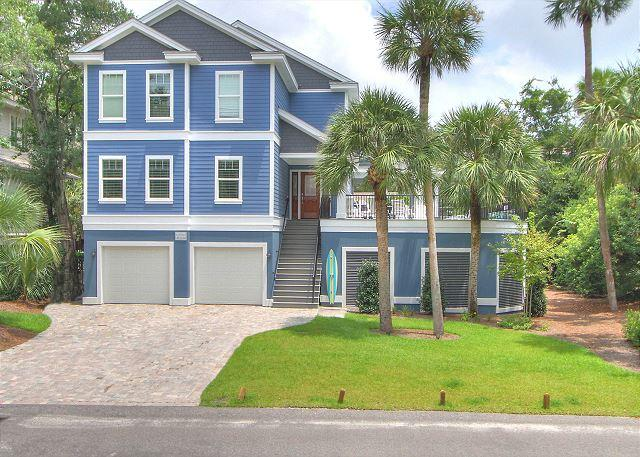 Exterior - 27 Pelican- Need 4, 5 or 6 bedroom home? 8/29-9/4 week $1500 OFF - Hilton Head - rentals