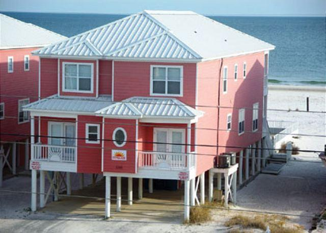 North Side of Sunglade - 'Sunglade' Beachfront Family House and Pool - Gulf Shores - rentals