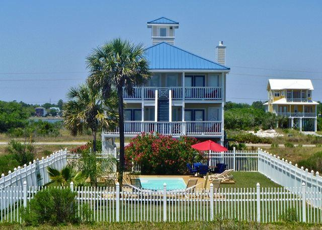 South Side of When Pig's Fly - 'When Pigs Fly' Beachview w/Private Pool - Gulf Shores - rentals