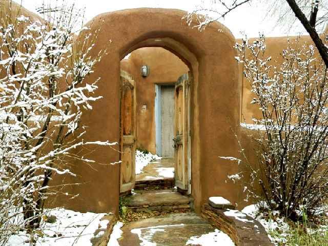 Adobe Hacienda cottage - Image 1 - Ranchos De Taos - rentals