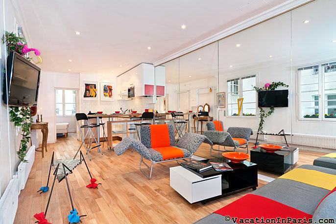 Les Halle Holiday Rental with 1 Bedroom in Louvre - Image 1 - Paris - rentals