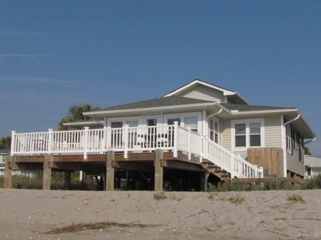 "206 Palmetto Blvd - ""Sea Oats"" - Image 1 - Edisto Beach - rentals"