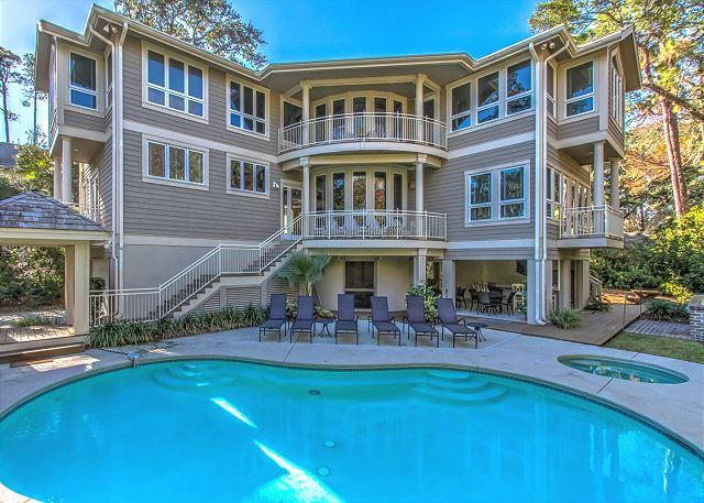 Exterior - 10 Brigantine- 2nd Row Ocean, Large/Open & Beautiful,  Lots of GREAT features - Hilton Head - rentals