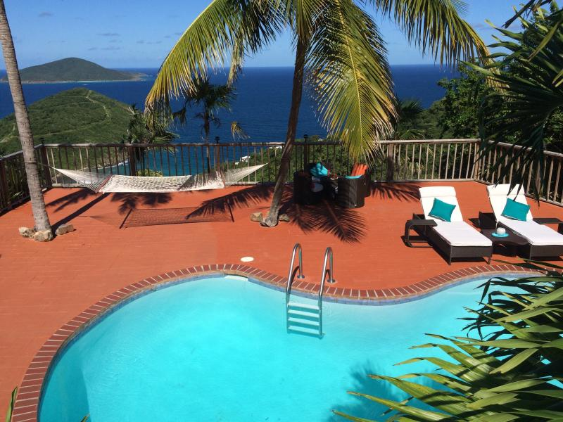 Your beautiful deck and expansive view await you - HarmonySuite - Lux. Honeymoon/Wifi/Gated/Priv.Pool - East End - rentals
