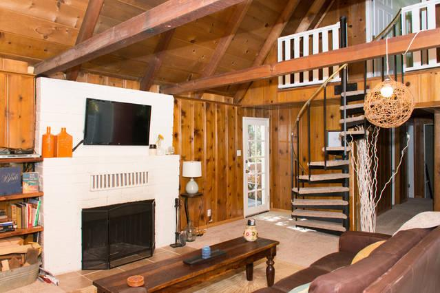 Living room - Home Away From Home! - Lake Arrowhead - rentals