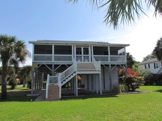 "3124 Myrtle St. - ""Scarborough Faire"" - Image 1 - Edisto Beach - rentals"