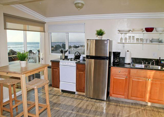 Remodeled Beach Rental, 1br/1ba, shared firepit, bbq, patio, on the ocean #9 - Image 1 - Oceanside - rentals