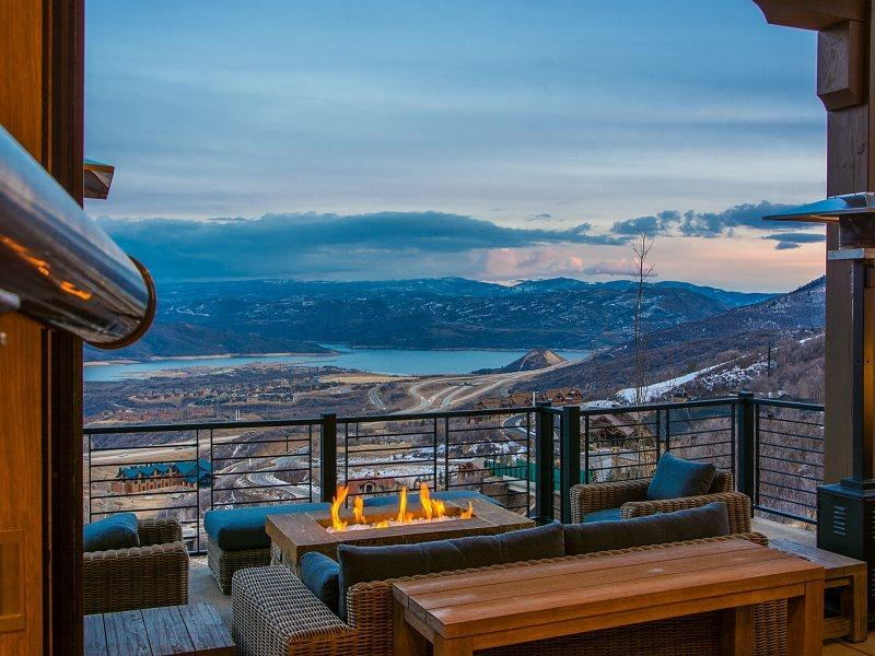 The View from Dreamscape 365 Ski-In/Ski-Out Deer Valley Estate  - Dreamscape 365 with Ski-In/Ski-Out Access at Deer Valley Resort - Park City - rentals