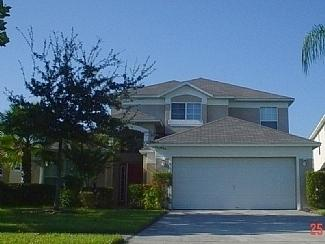 Lake Berkley 2 storey luxury villa from the front - Orlando/Kissimmee Lake Berkley 5 bed luxury villa. - Kissimmee - rentals