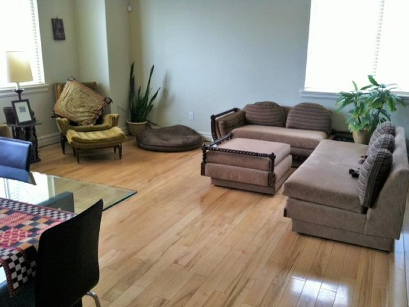 Large, spacious living area with comfortable furniture - Spacious Luxury Downtown Condo - Salt Lake City - rentals