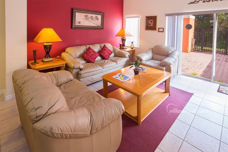Open plan family room - Book Me Villa - Kissimmee - rentals