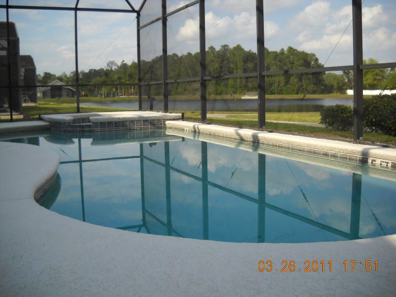 Privated pool with amazing lake view - 7 Bed 5 Bath rooms /4 KingSize, Lake view Resort - Clermont - rentals