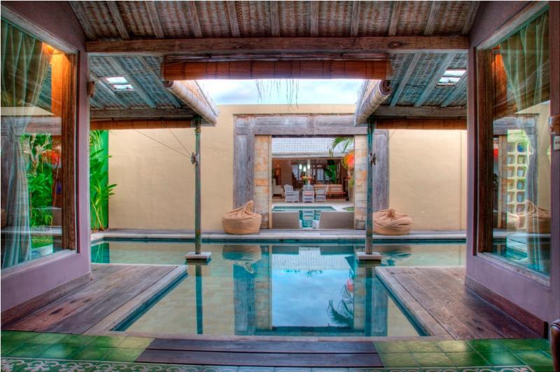 Pool view - Cozy 2BR Villa, Eat.Str., Seminyak - Seminyak - rentals