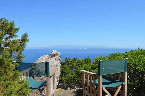 Mediterranean- style villa situated high on the rocks in northern Sardinia. SAL BVD - Image 1 - Sardinia - rentals