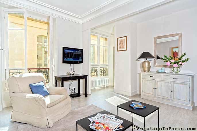302/le-saint-romain-one-bedroom - Image 1 - Paris - rentals