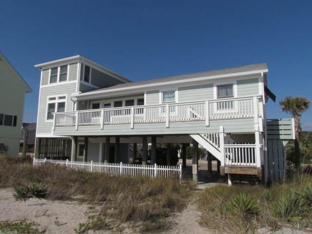 "210 Palmetto Blvd.- "" Baker House"" - Image 1 - Edisto Beach - rentals"