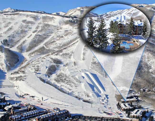 Snow Flower is located at the base of PC Mtn. Resort with restaurants, shops and activities - Ski In/Ski Out on Park City Mountain, Utah - Park City - rentals