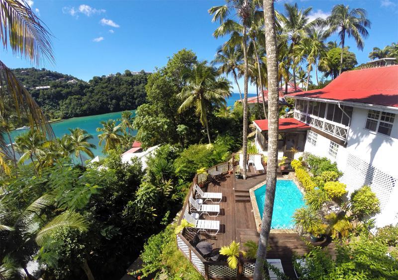 The Villa and the View - 'Villa St. Lucia' - Wonderful Cottage-Style Escape - Marigot Bay - rentals