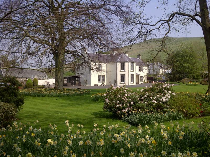 Glebe House in spring - Large Self Catering Scottish Borders Vacation Home - Kelso - rentals